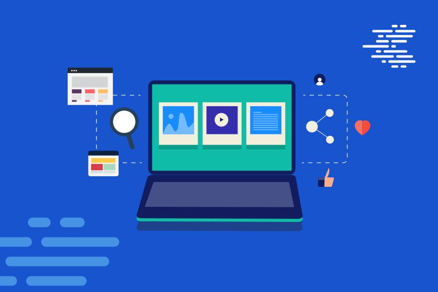 ordinateur-fond-bleu